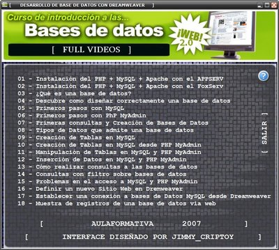 curso introduccion bases de datos