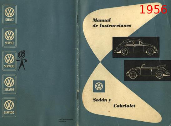 1956 - Sedan y Cabriolet