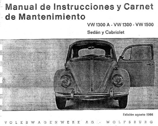 1966 - VW 1300A, 1300 y 1500