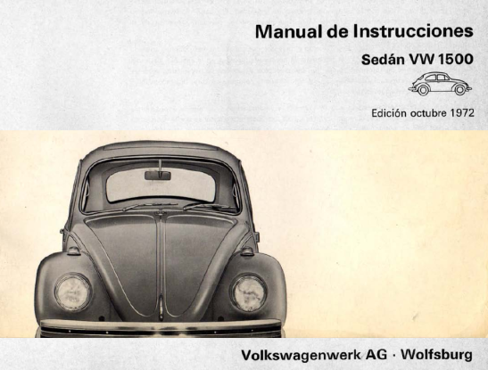 1972 - VW 1500