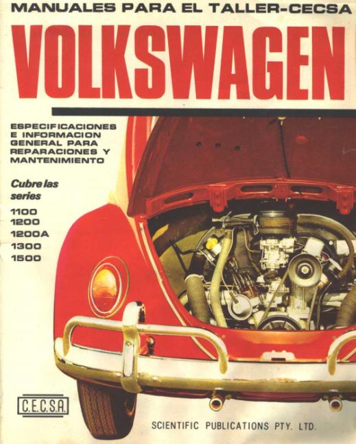 Manuales para el taller CECSA Volkswagen