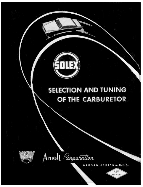 Solex-Selection-and-Tuning-of-the-Carburetor-48-pags