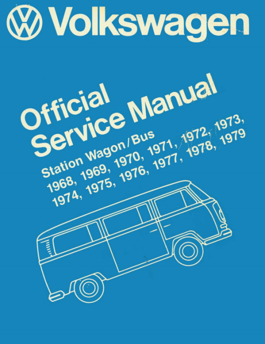 Volkswagen-Official-Service-Manual-Station-Wagon-Bus-T2-1968-1979-Ingles