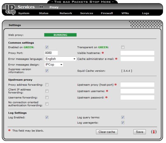 IPCOP 2 con URLFILTER y ADVPROXY 001