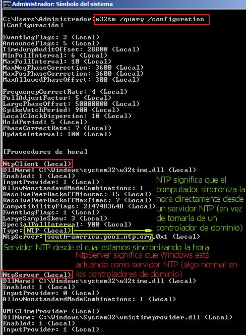 03 - query configuration domain controler