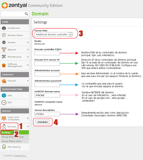 Zentyal-Additional-Domain-Controller