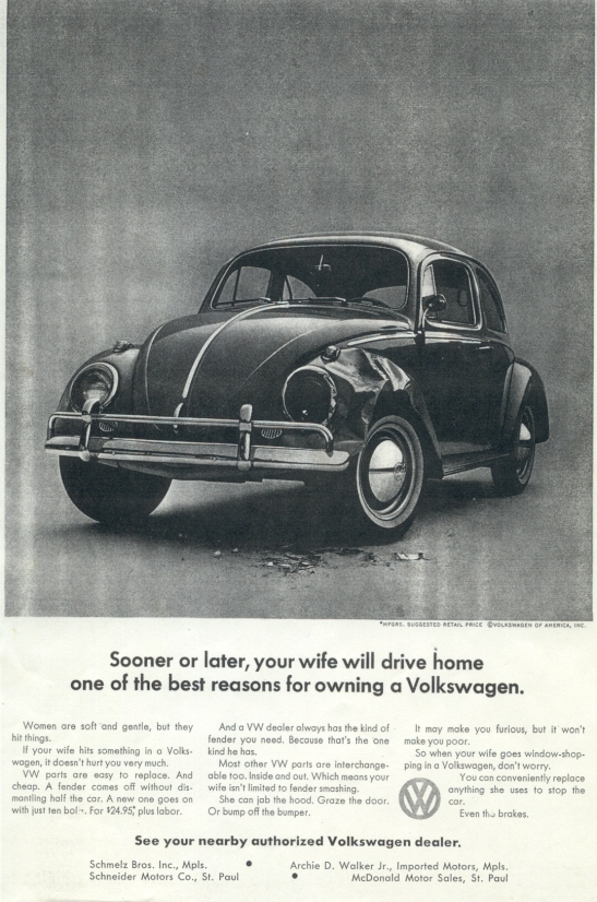 Volkswagen-sooner-or-later-your-wife