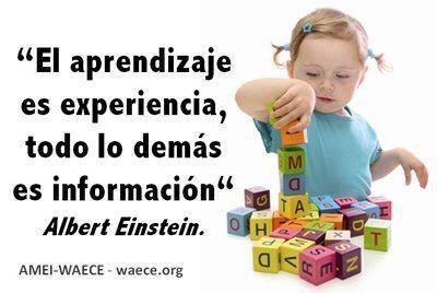 aprendizaje-experiencia-informacion-albert-einstein