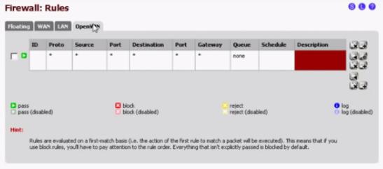 PFSense OpenVPN Site to Site 11