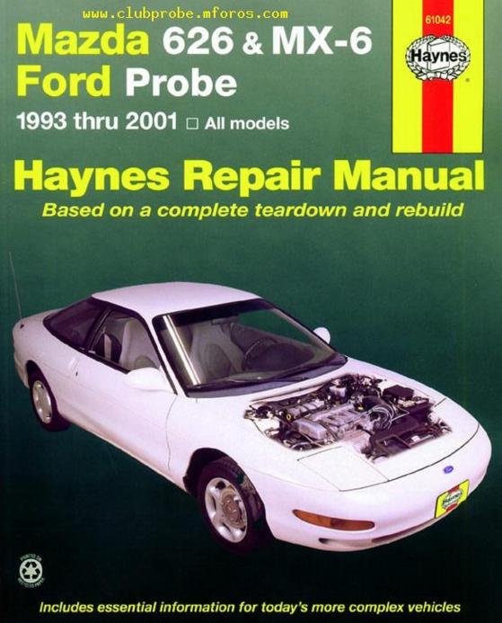 excelentes libros sobre el mazda 626 ge m s conocido en colombia rh juliorestrepo wordpress com 2000 Mazda 626 1996 Mazda 626
