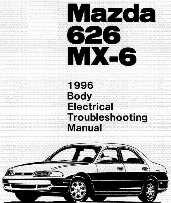 Excelentes libros sobre el Mazda 626 GE (más conocido en