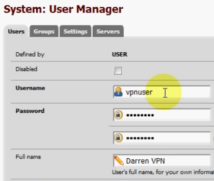 PFSense OpenVPN ROAD WARRIOR 08
