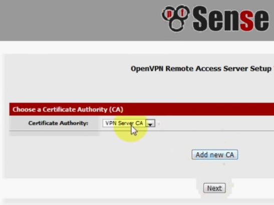 PFSense OpenVPN ROAD WARRIOR 14