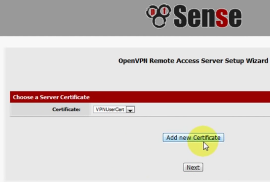 PFSense OpenVPN ROAD WARRIOR 15