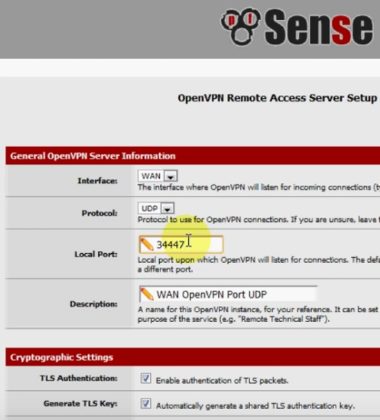 PFSense OpenVPN ROAD WARRIOR 17
