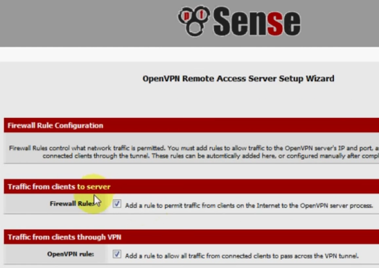PFSense OpenVPN ROAD WARRIOR 20