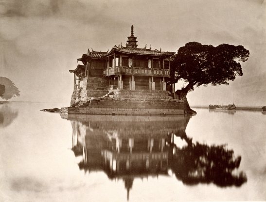John Thomson (British, 1837-1921) Island Pagoda,about 1871, from the album, Foochow and the River Min,Published in London, 1873 Carbon print 8 ¾ x 11 ¼inches Gift of the Estate of Mrs. Anthony Rives, 1973 Peabody Essex Museum, Salem, Massachusetts PH26.19